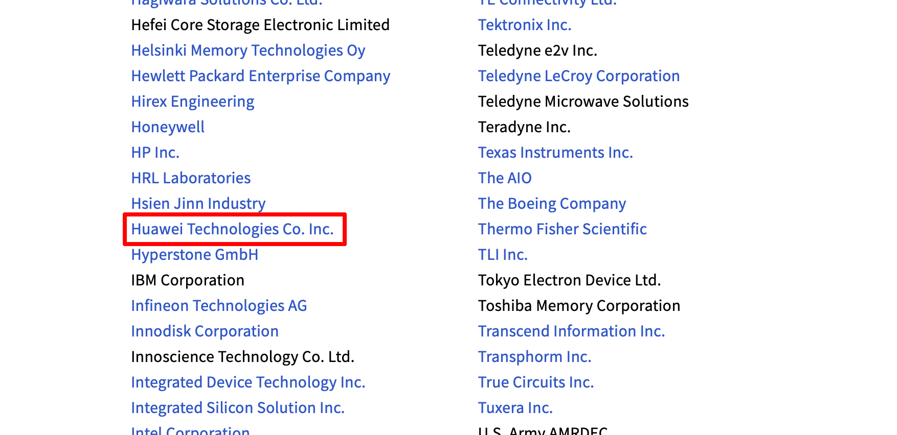 WiFi联盟、蓝牙联盟、JEDEC协会已恢复华为成员资格