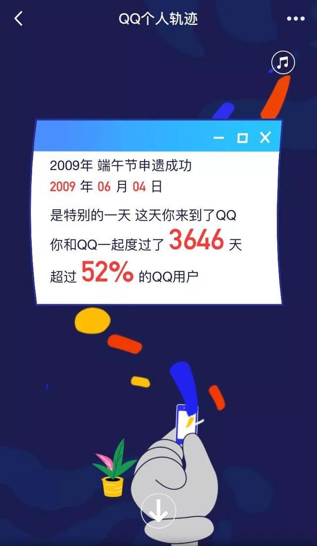 "QQ20周年 腾讯上线""QQ个人轨迹""!满屏回忆杀与黑历史..."