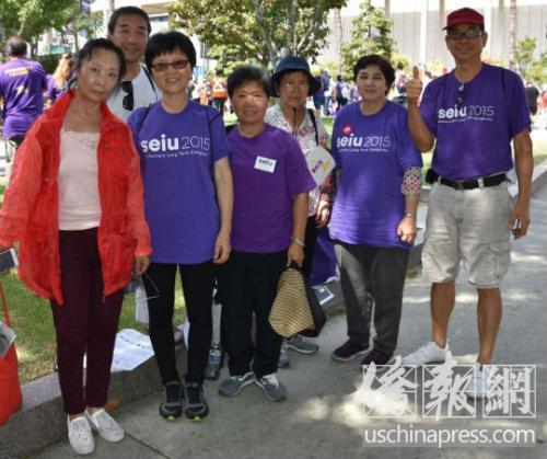 美加州州长承诺加薪未兑现 华人家庭护理工将抗议