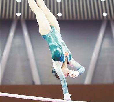 长泰女孩程诗怡获全国体操锦标赛高低杠第二名