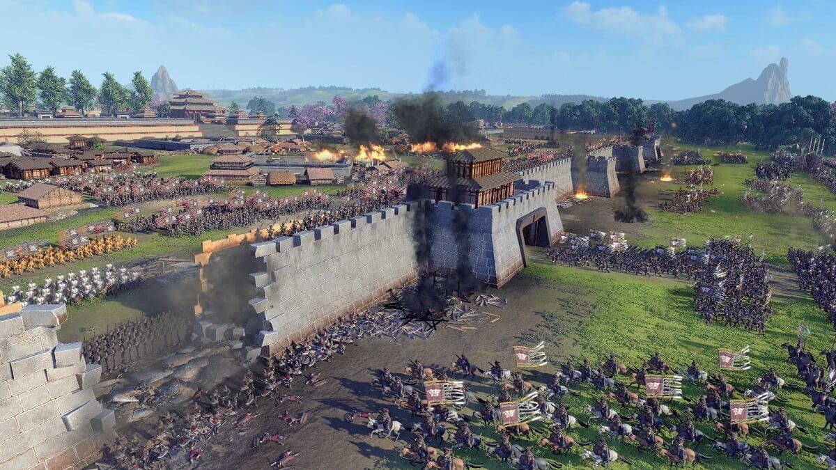 《全面战争:三国》一个真实版的权力的游戏