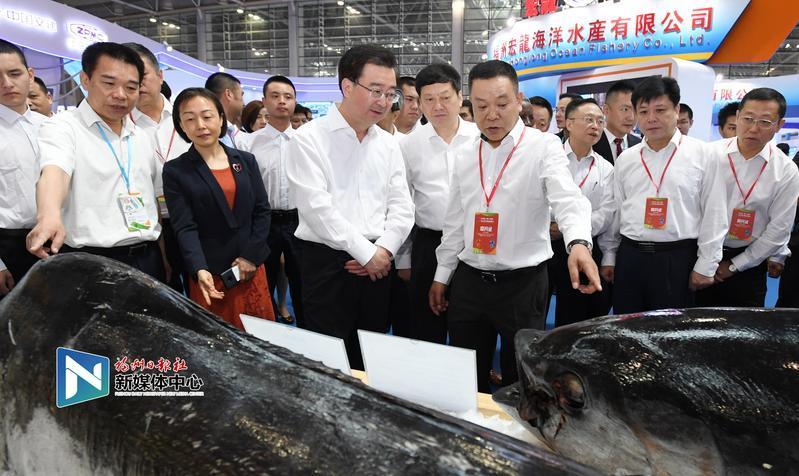 2019渔业周·渔博会开幕 重点项目签约总额达227亿元