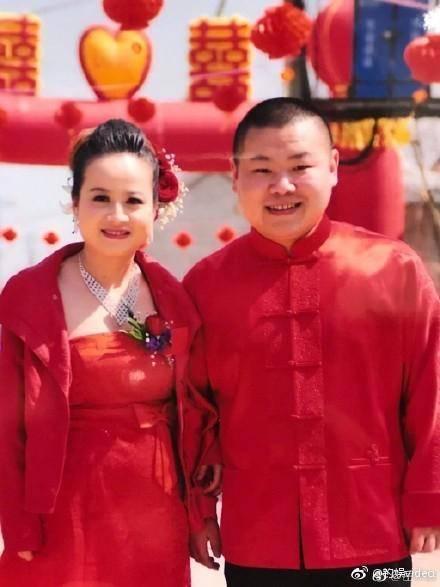 岳云鹏与妻子郑敏
