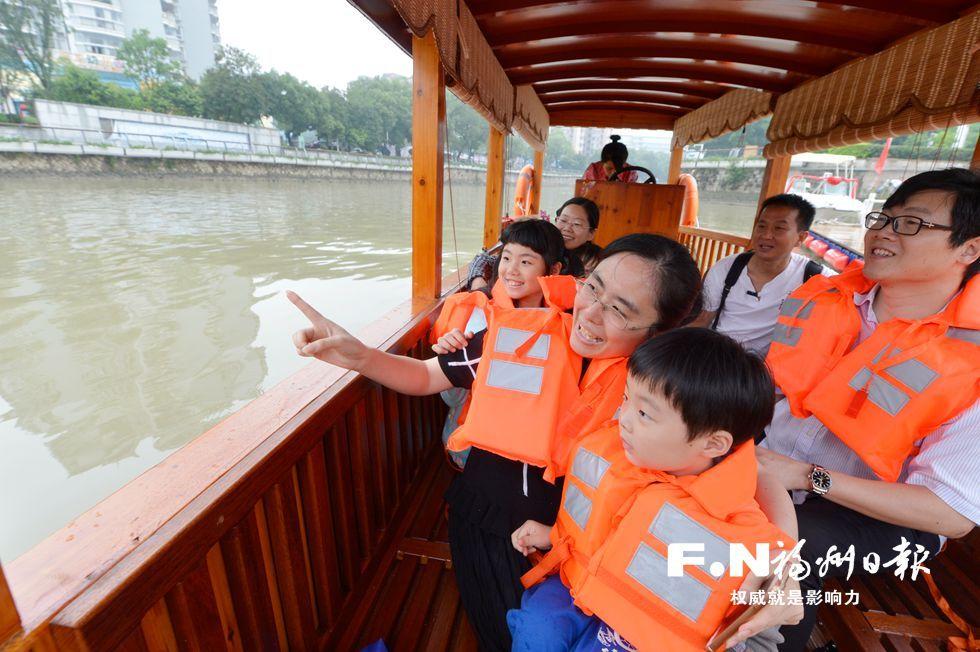 6月1日起福州晋安河游船可直通光明港 单程约60分钟