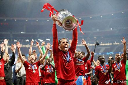 范戴克当选欧冠决赛最佳球员