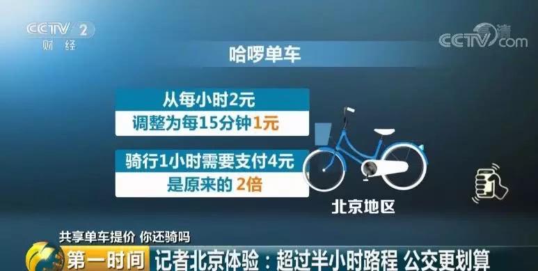 共享单车涨价原因是什么?共享单车涨价贵过坐公交,你还会骑吗?
