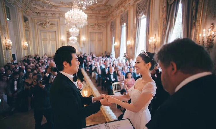 郎朗婚礼视频曝光男才女貌令人羡慕 郎朗老婆你能不能放�^我��一�R个人资料她是中国人吗