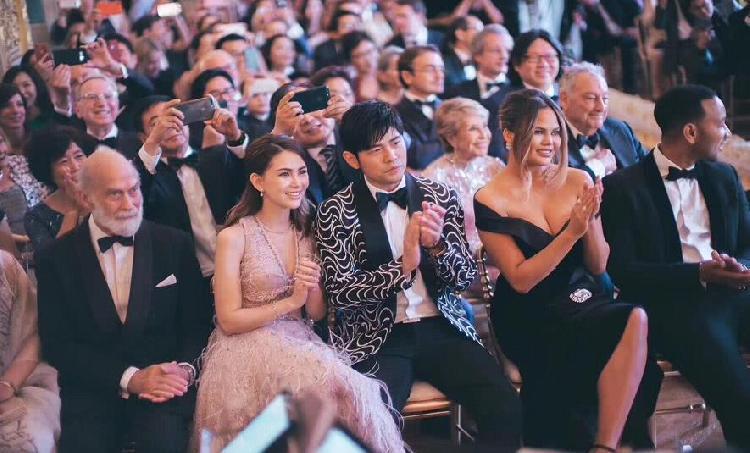 吉娜爱丽丝Gina Alice年龄身高家庭背景,郎朗婚礼现场视频现场图