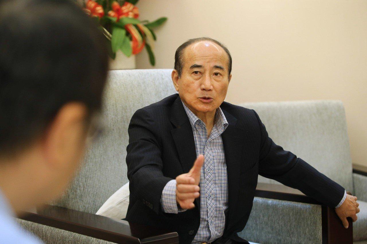 王金平:若2020当选 不排除到访大陆解决两岸僵局