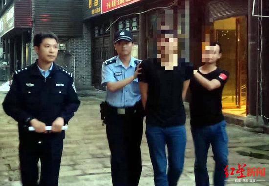 警方抓获嫌疑人大安警方供图