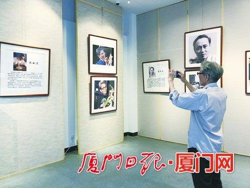 廈門文學藝術人物系列展亮相 展現33位本土文藝家風采