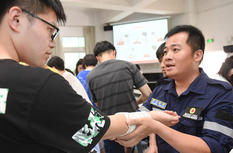 福建福州:應急救援培訓進高校
