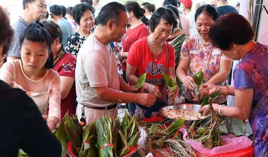 3d走势图福州:古村端午会 粽香好佳节
