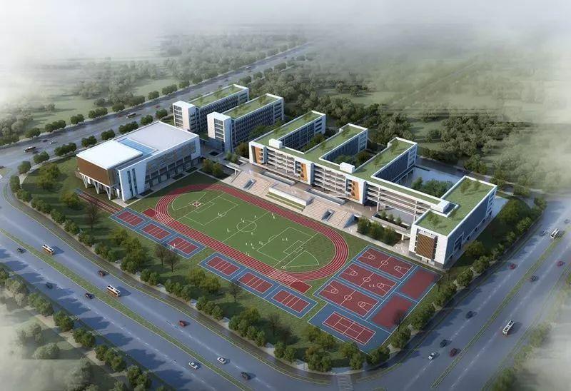 福州首个!市中心全封闭寄宿制公立高中开建!
