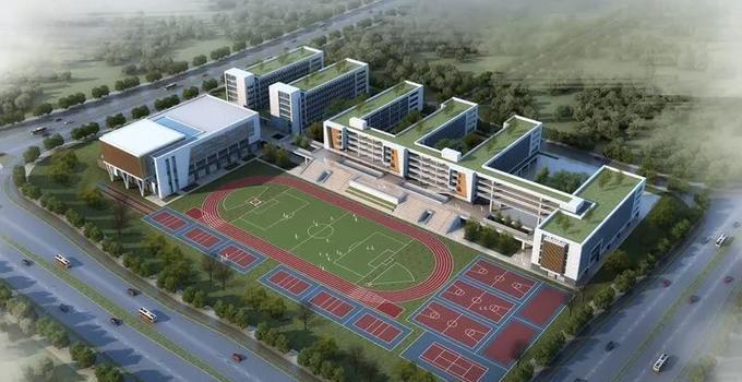 福州首個!市中心全封閉寄宿制公立高中開建!