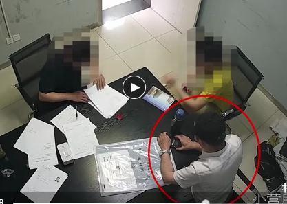 男子派出所顺手机详细作案过程曝光 男子在派出所是怎么顺手机的?