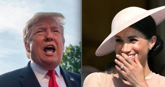 特朗普接受英媒采访,抱怨梅根王妃曾对他评价很差