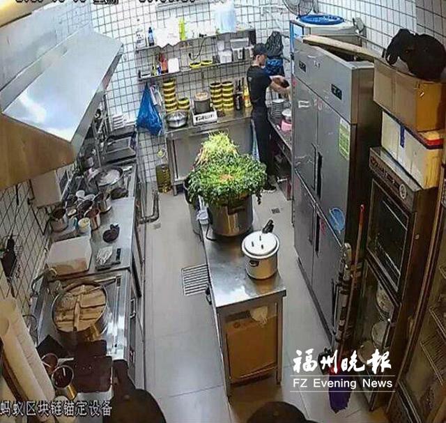 """福州""""明厨亮灶""""拓展到线上 点外卖可看厨房直播"""
