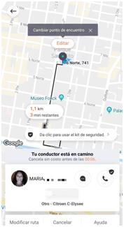6月3日,女司机玛利亚完成了滴滴在智利的首个订单