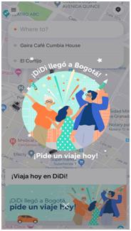 滴滴于2019年6月正式启动智利和哥伦比亚业务