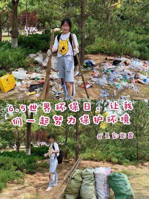 运垃圾进公园摆拍什么情况?运垃圾进公园摆拍警方调查真相亮了
