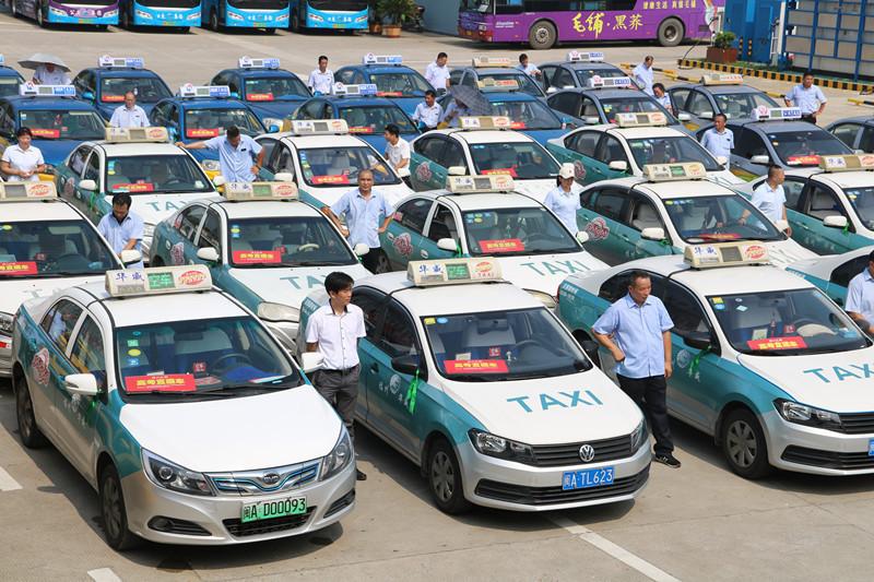 福州市安排1000輛出租車為高考考生保駕護航