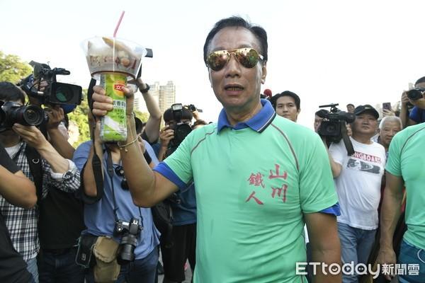 郭臺銘呼吁藍營團結 力挺王金平:我們是關公兄弟