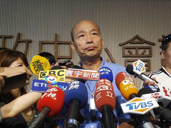 """韓國瑜聽聞王金平退出初選""""嚇一跳"""":會找時間跟他請益"""
