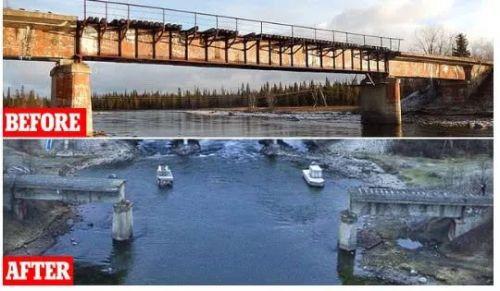 俄罗斯桥被偷走具体什么情况?嫌犯抓住了吗为什么要偷桥令人费解