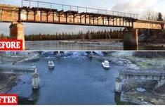 俄羅斯橋被偷走具體什么情況?嫌犯抓住了嗎為什么要偷橋令人費解