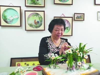 """漳州工藝美術技藝棉花畫:一""""花""""一世界"""