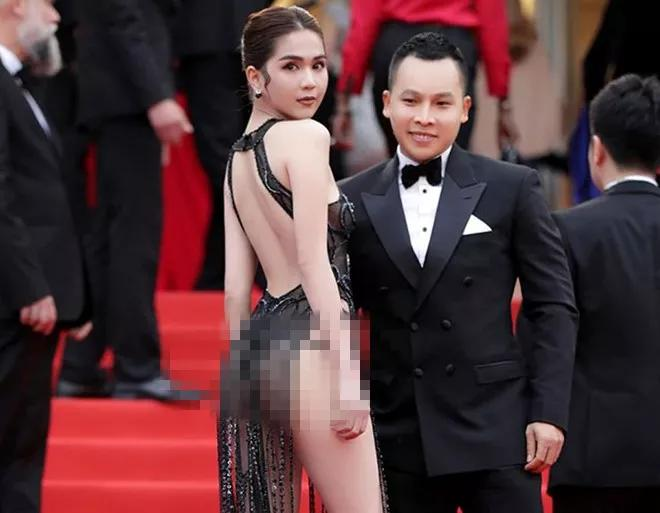 越南模特在戛纳电影节上穿着暴露 或面临巨额罚款