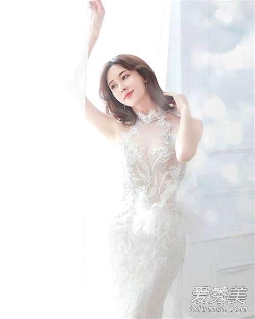 林志玲婚紗照曝光 林志玲婚紗照什么樣子?林志玲什么時候結婚