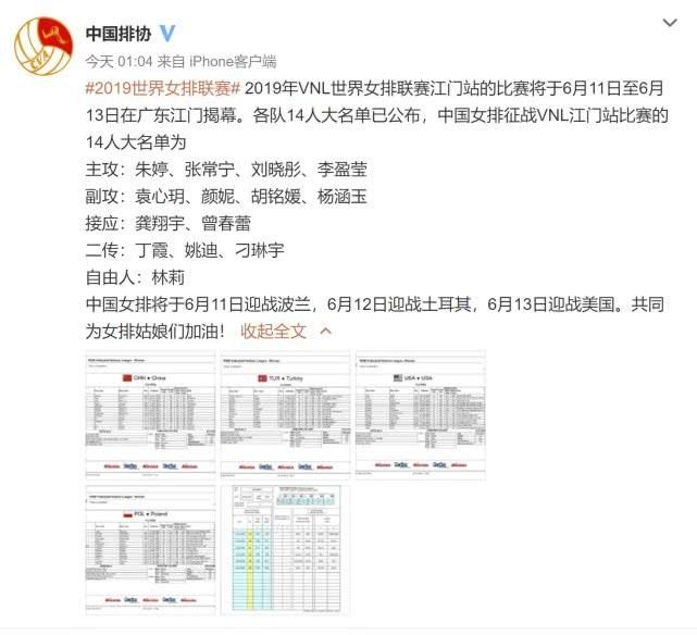 中国女排阵容:王梦洁调休 郎平火线征调刁琳宇