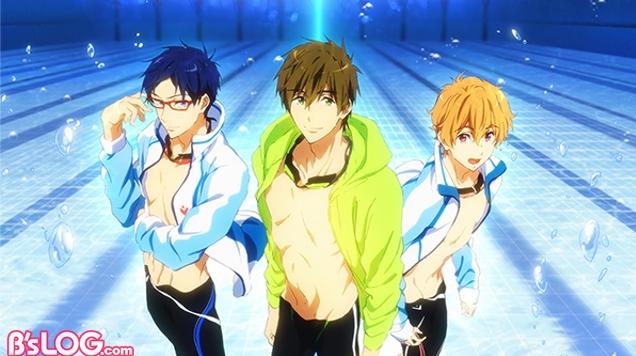 罕見游泳番名作《Free!》劇場版 目標直指奧運