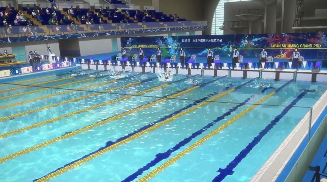 目標直指奧運!罕見游泳番名作《Free!》新劇場版最新預告