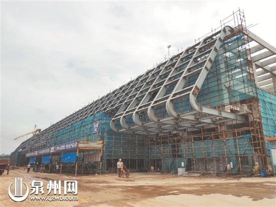 晉江國際會展中心下月裝修 力爭2020年4月投入使用