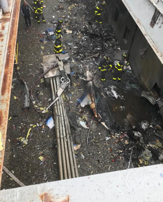 直升机在纽约坠毁怎么回事 是恐怖袭击还是意外坠落