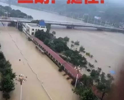 三明挺住!黉舍停课!列车晚点!农田被淹!