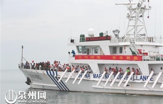 """江河湖海年年有鱼 泉州举办2019年""""放鱼日""""活动"""