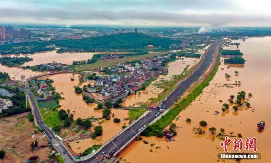 今年入汛以来22省遭洪灾 因灾死亡失踪83人