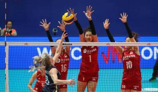 中国女排横扫波兰 3-0豪取世联赛八连胜