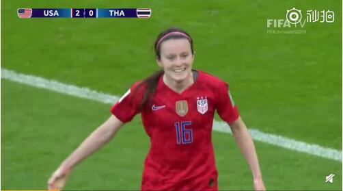 美国女足横扫泰国女足比分13-0 美国射门达39次