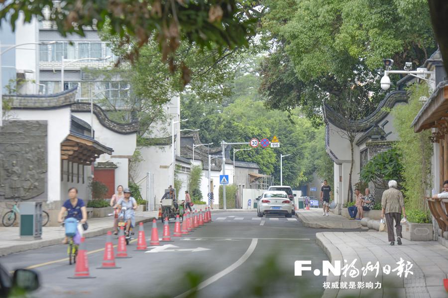 福州鼓楼在延续历史文脉中推进城区高质量发展