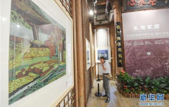 福建:松溪版画展现生态家园