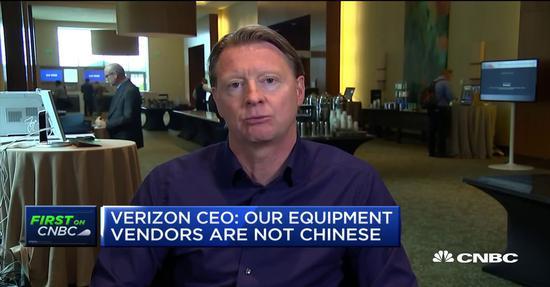 维斯特博格接受采访 图自CNBC新闻网