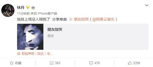 李宗伟退役 林丹:独自上场没人陪我了