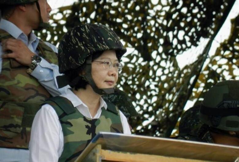 臺退將:蔡英文應向鄉親們保證 臺灣不能有戰爭
