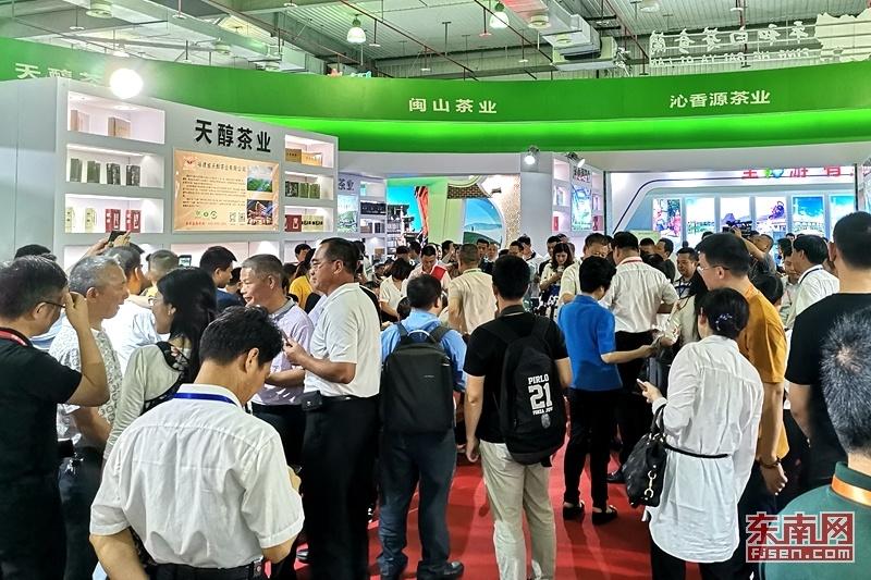 海峽(漳州)茶會現場:新展區 新特色 好產品(組圖)