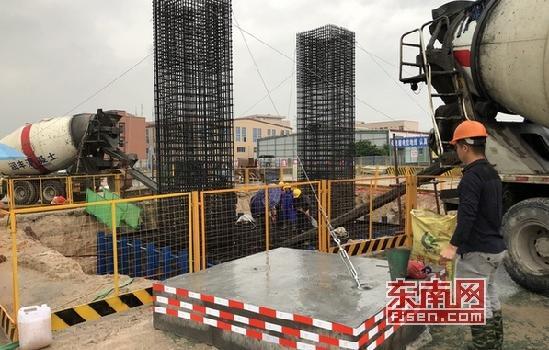 漳州市东环城路及其连接线工程施工全面展开